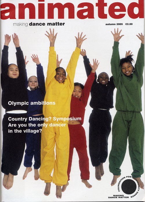 Animated Autumn 2005 cover
