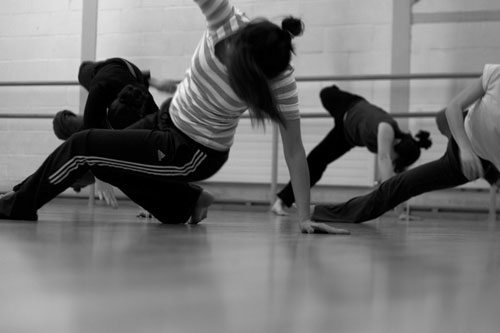 nocturn's weekly adult contemporary class, South Hill Park (Community Group). Photo: Dean Soden