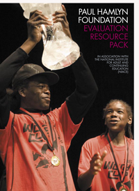 Paul Hamlyn Foundation: Education Resouce Pack, 2007. Front Cover
