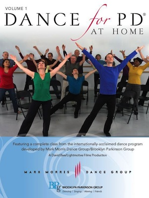Dance for PD at home dvd cover