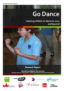 Go Dance report cover
