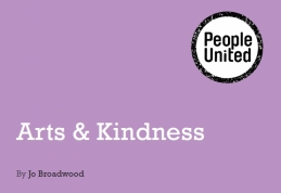 Arts and kindness front cover