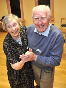 Flora and Mike Hartley, Dancing Recall participants. Photo: Emma Dickinson