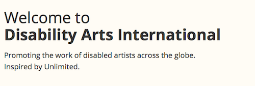Disability Arts International