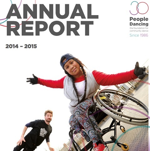 People Dancing Annual Report 2014-2015