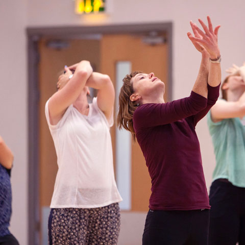 Advanced course for Dance for Parkinson's, People Dancing Summer School 2017. Photo: Rachel Cherry