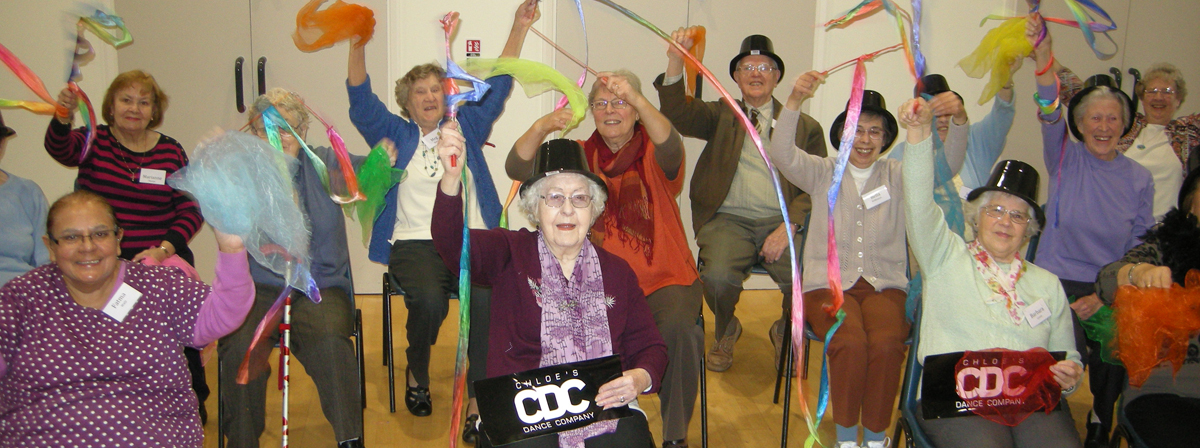 An older people's group with Chloe's Dance Company