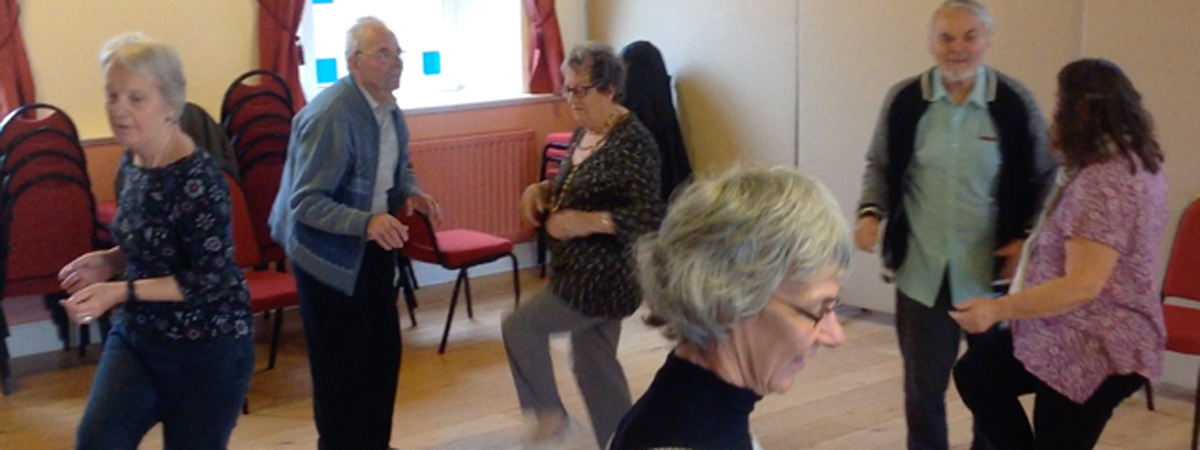 A Strictly Parkinson's session - Builth Wells