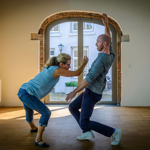 Marc Vlemmix (right). Photo: Rob Hogeslag and commissioned by Dance for Health.