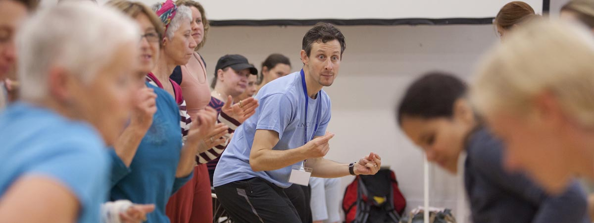 David Leventhal at People Dancing Summer School 2016. Photo by Rachel Cherry