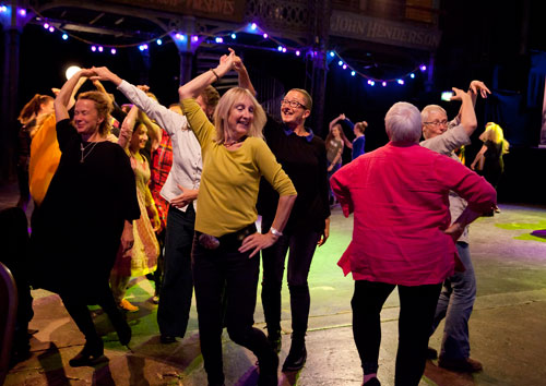 People Dancing International Conference 2017, Glasgow. Photo: Rachel Cherry.