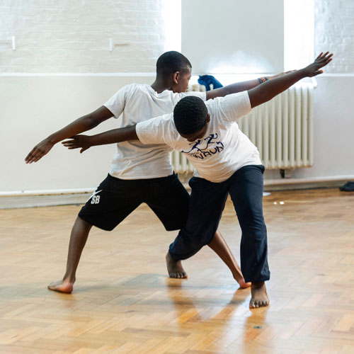 Primary School dance residency with Shobana Jeyasingh Dance. Photo: Foteini Christofilopoulou