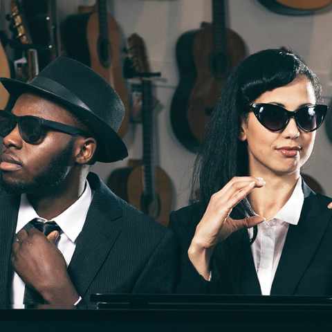 The Blues Brothers reimagined, commissioned by People Dancing, photography Sean Goldthorpe