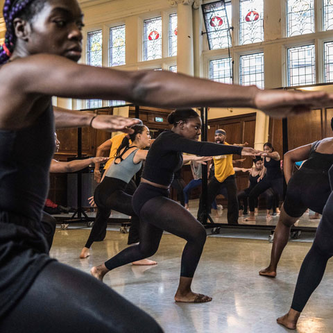 AYD, Alvin Ailey Masterclass. Photo: Pierre Tappon Photography