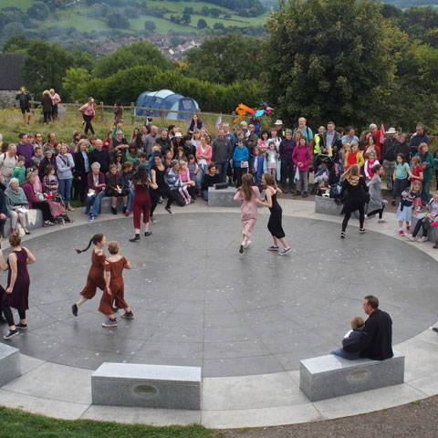 Wirksworth Festival Community Celebration Event, 2014. Photo: Phil Richards