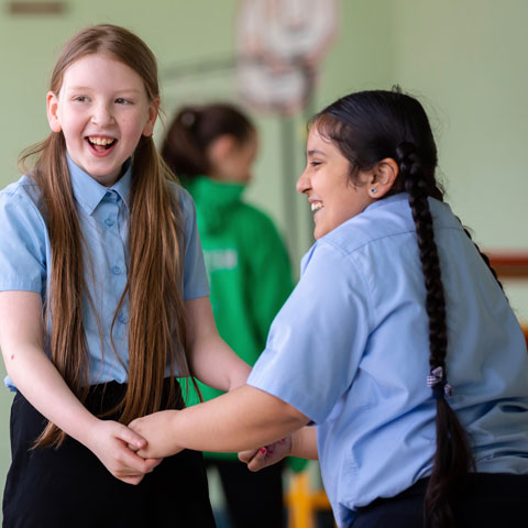 Scottish Ballet's Safe to Be Me school workshop. Photos: Andy Ross
