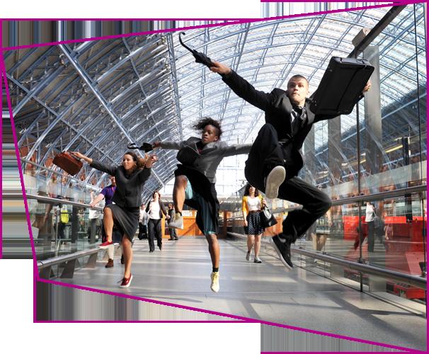 Big Dance Week Launch, Choreographer kate Prince, St Pancras International Station. Photo: Ben Pruchnie