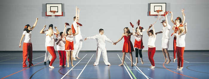 High School Musical, photographed by Sean Goldthorpe, 11 Million Reasons to Dance